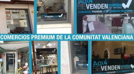 Las tiendas de muebles Premium de la Comunitat Valenciana se identifican fácilmente