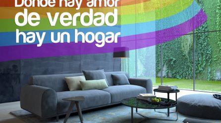DONDE HAY AMOR DE VERDAD , HAY UN HOGAR