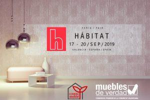 MUEBLES DE VERDAD, MUEBLES DE VALENCIA, FERIA HABITAT 2019